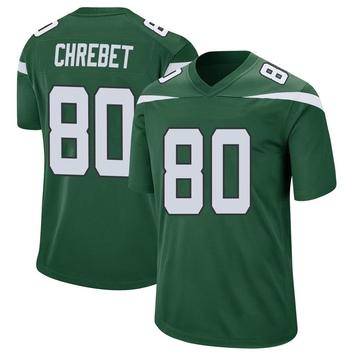 Youth Nike New York Jets Wayne Chrebet Gotham Green Jersey - Game