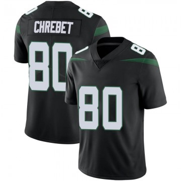 Youth Nike New York Jets Wayne Chrebet Stealth Black Vapor Jersey - Limited