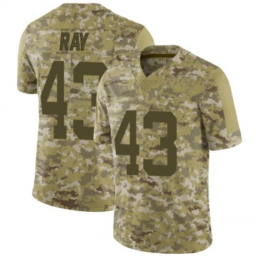 Youth Nike New York Jets Wyatt Ray Camo 2018 Salute to Service Jersey - Limited