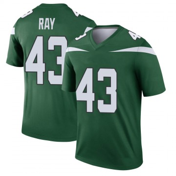 Youth Nike New York Jets Wyatt Ray Gotham Green Player Jersey - Legend
