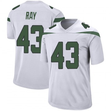 Youth Nike New York Jets Wyatt Ray Spotlight White Jersey - Game