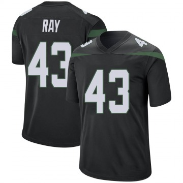 Youth Nike New York Jets Wyatt Ray Stealth Black Jersey - Game